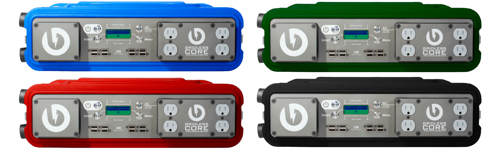 Gridless Power - Core 1k Portable Battery Pack (Multiple Colors)