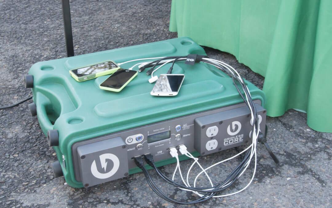 Emergency Phone Charging